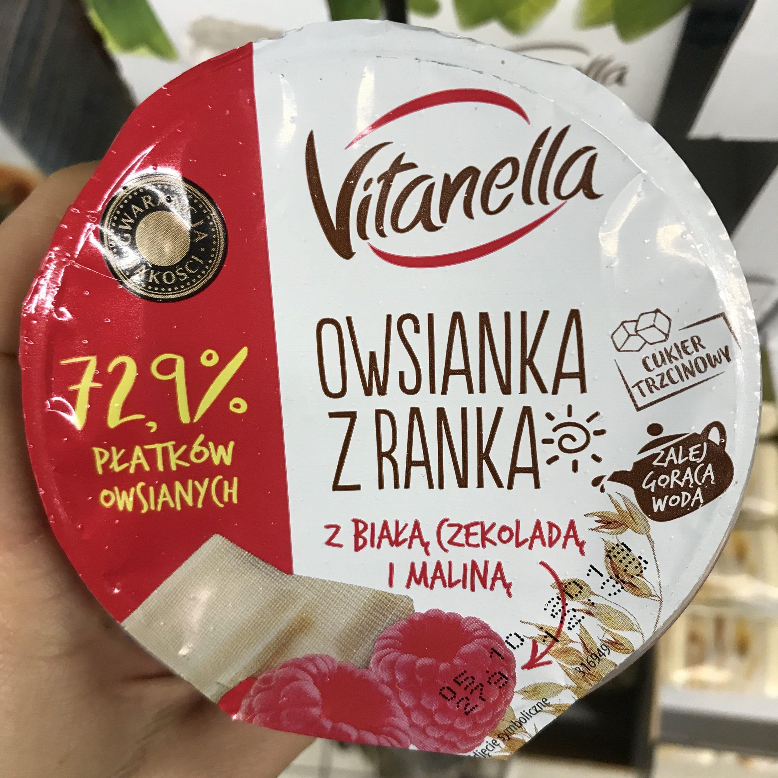 Owsianka z Biedronki.